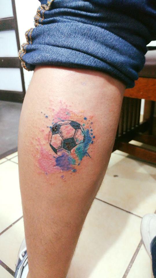 Balon  tatuaje realizado por Omar Mendoza
