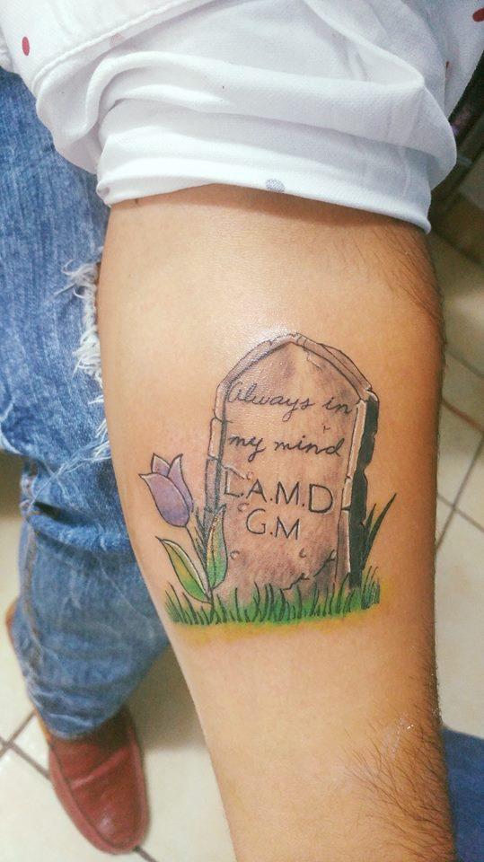 Conmemorativo  tatuaje realizado por Omar Mendoza
