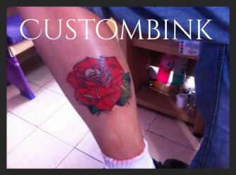 Rosa Tradi tatuaje realizado por B-Ink Tattoo