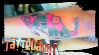 Tradisional tatuaje realizado por TattoDanny