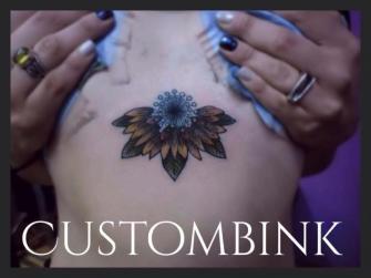 Girasol Mandala tatuaje realizado por B-Ink Tattoo