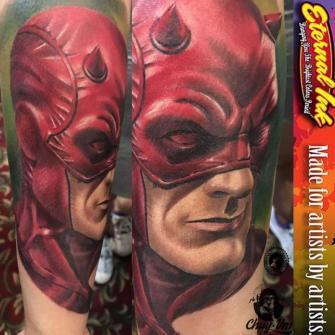 dare devil tatuaje realizado por Chui Vm