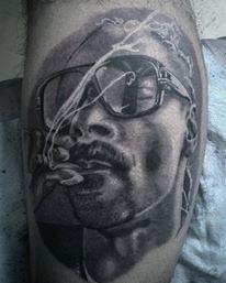 snoop dogg tatuaje realizado por Jim vlad
