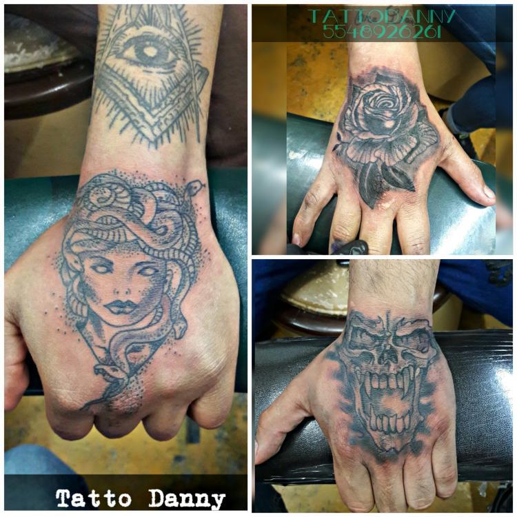 La tinta tatuaje realizado por TattoDanny