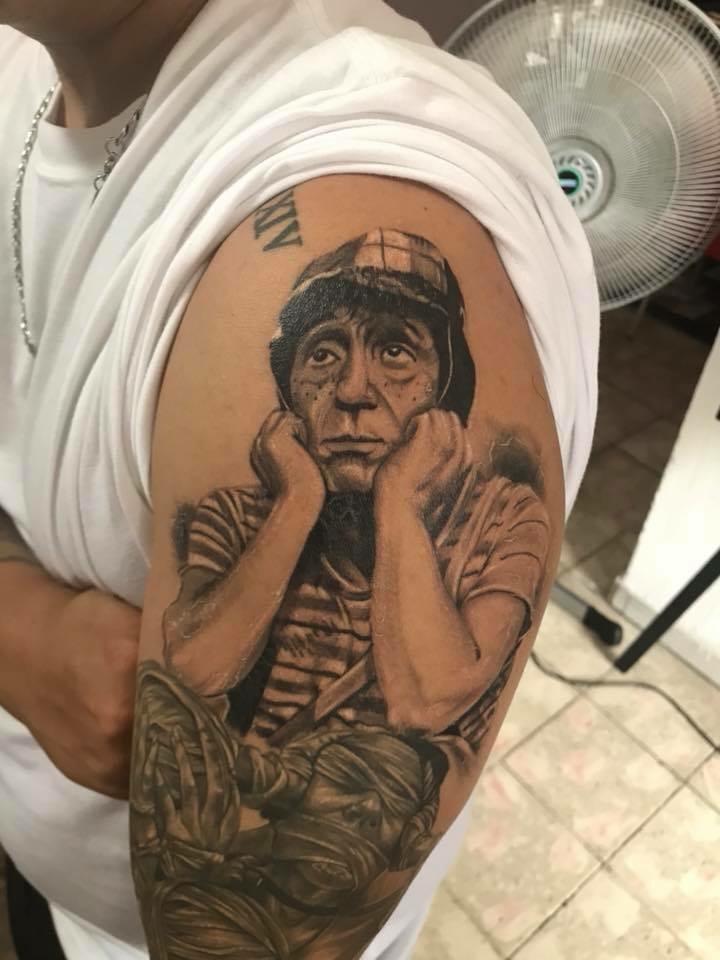Trabajo en brazo  tatuaje realizado por Ali Tattoo