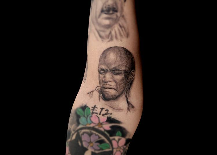Eric Harland tatuaje realizado por Mario TORRES