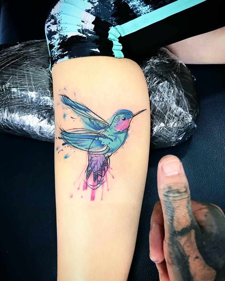 Tatuaje en chamorro  tatuaje realizado por Ali Tattoo