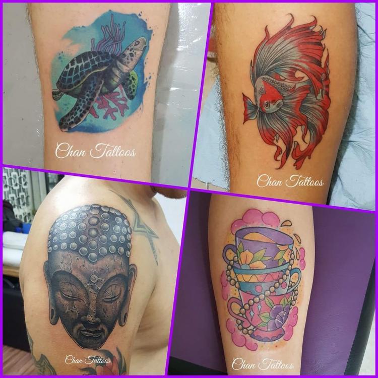 Varios  tatuaje realizado por El CHAN Tattoos
