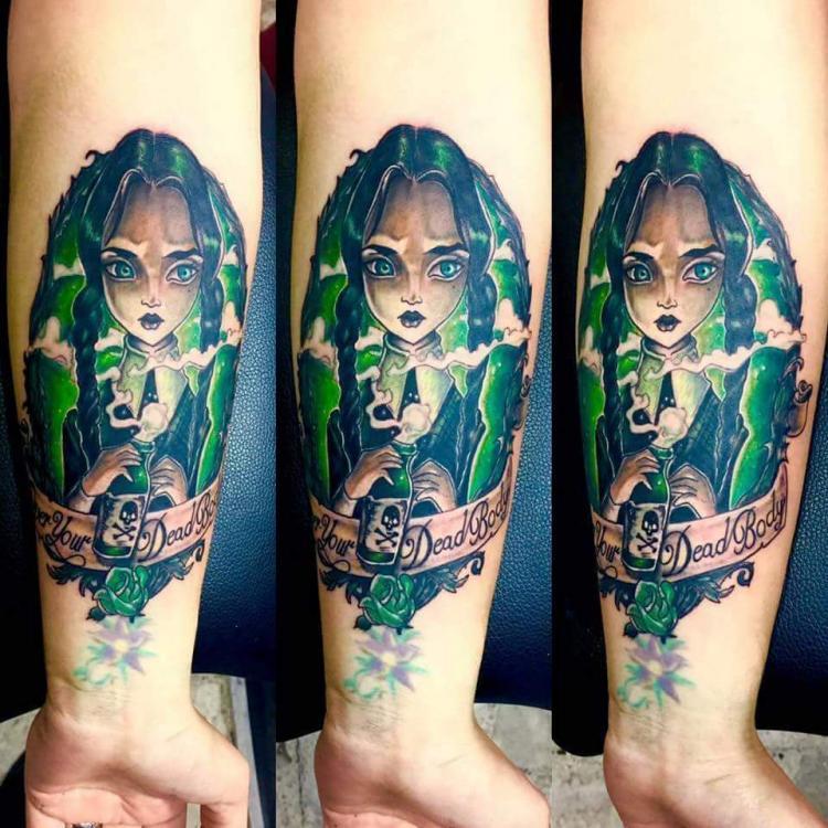 Melina tattoo tatuaje realizado por West