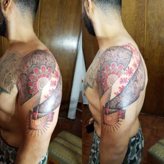 En el brazo  tatuaje realizado por The inkperfect tattoo shop