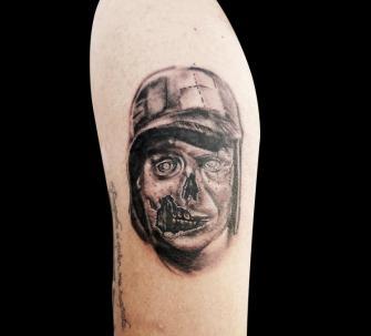 El Chavo del 8 tatuaje realizado por Mario TORRES