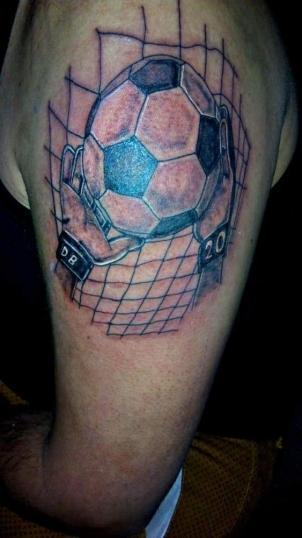 Portero tatuaje realizado por kreador one