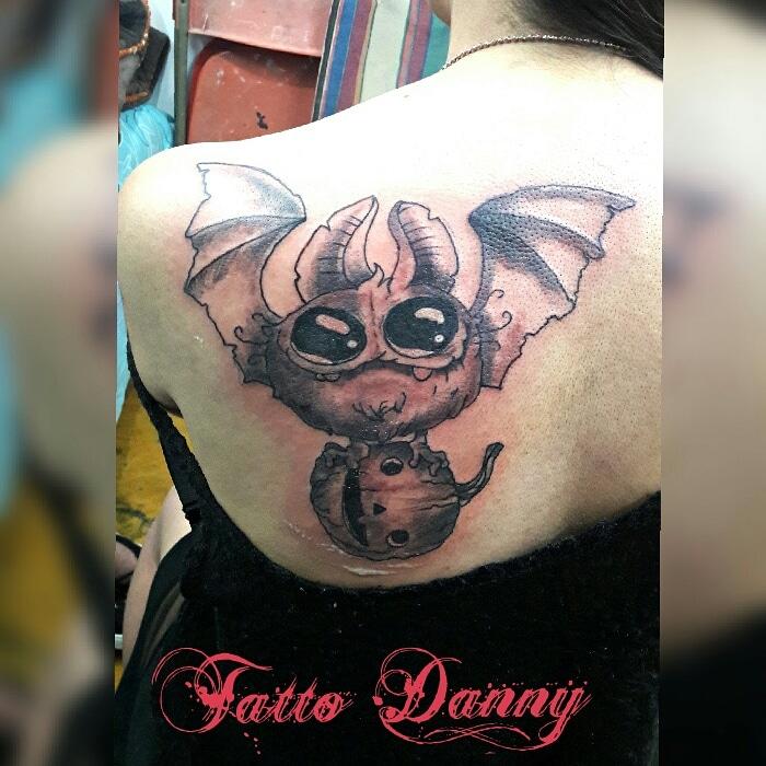 Vampirin tatuaje realizado por TattoDanny