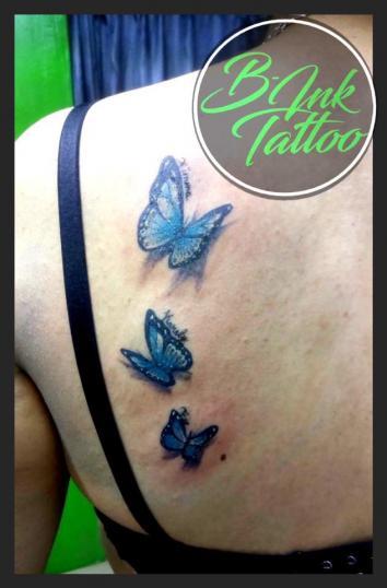 -Butterflies- tatuaje realizado por B-Ink Tattoo