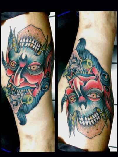 tradicional tatuaje realizado por Garo Lozada