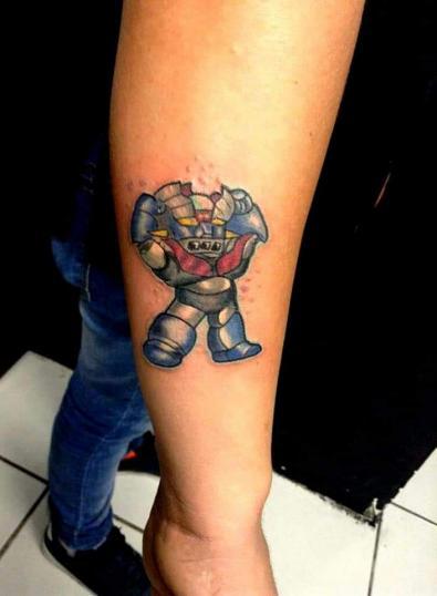 Mazeyer z Fullcolor tatuaje realizado por Benjamín Churros