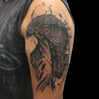 tattoo tatuaje realizado por Rene pacheco