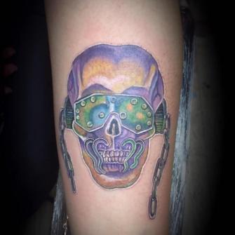 megadeth tatuaje realizado por Rene pacheco