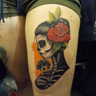Las monitas del archie tatuaje realizado por Ironik tattoo