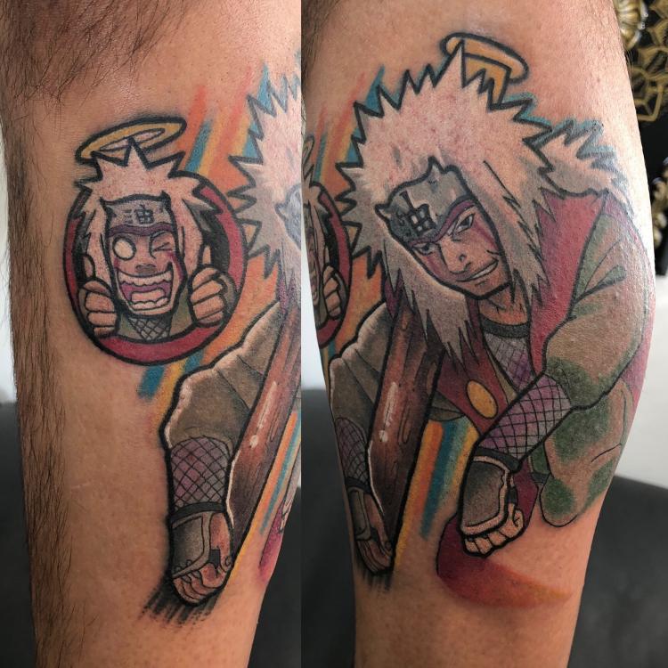 El viejo pervertido tatuaje realizado por Edgar Constantino flores (Tino)