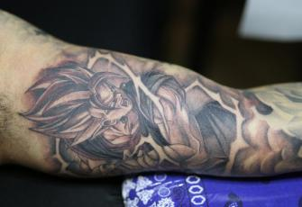 VEGITO  tatuaje realizado por Old Gangsters Tattoo Shop