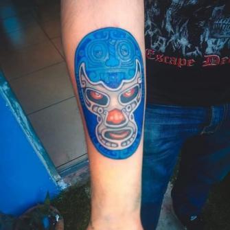 Color tatuaje realizado por RED SKY TATUAJES Y DELINEADOS