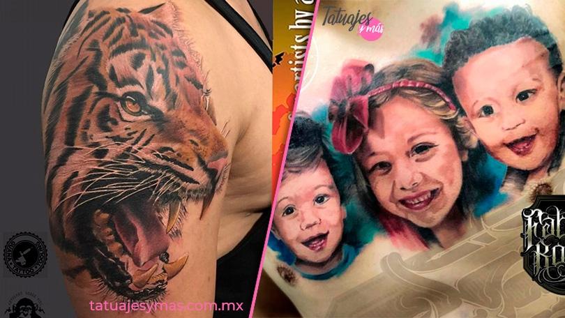 Tatuajes Realistas, correrás con alguno de los artistas para hacerte uno